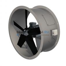 Вентилятор осевой АВОС 1000 (1,5 кВт) мощный электродвигатель