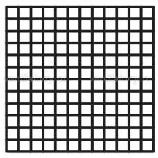 Решетка вентиляционная потолочная 600x600 (С004)