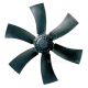 Axial fans for cooling (AK...)