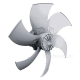 Axial fans for cooling