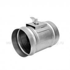 Дроссель-клапан круглый 125
