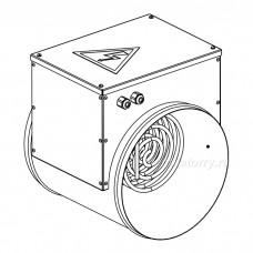 Нагреватель канальный электрический НКК-Э-100-0,5