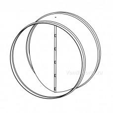 Клапан обратный для круглых каналов RSK-100
