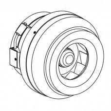 Радиальный канальный вентилятор ВКК-160 EC