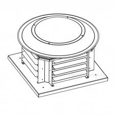 Вентилятор крышный ВКР-190-2Е